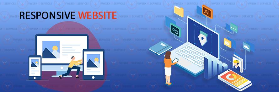 Responsive website design company faridabad
